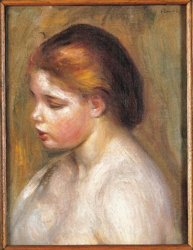 Bust Of A Nude Young Girl Poster Print TLXTNK1FKUCGIKB1