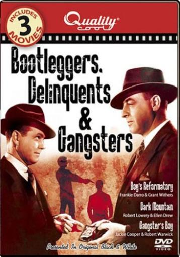 Bootleggers delinquents & gangsters (dvd/3 movies) nla