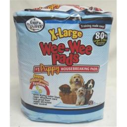 Four Paws - Wee Wee Pads Xlarge- 21 Pack - 100202095-01648
