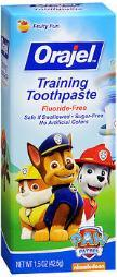 Orajel Toddler Training Toothpaste Tooty Fruity Flavor - 1.5 oz CH07526