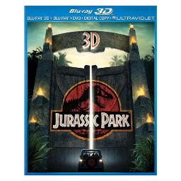 Jurassic park (3d) blu ray/dvd combo pack w/digital copy/ultraviolet  (3-d) BR61125857