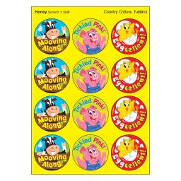 Trend (6 pk) country critters/honey