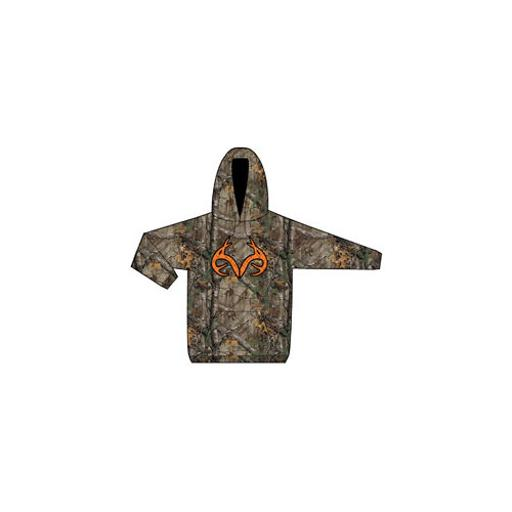 Realtree merchandise brf65797 realtree fleece hoody with antlers assortment camo m-2xl QONKTCGGLOBQUBKJ