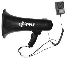Pyle  pyle pro megaphone with siren and 3.5mm aux input