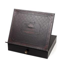 a-m-judaica-and-gifts-x1811g-14-1-x-11-8-in-book-stand-leather-look-with-drawer-bf1b0380c06812b5
