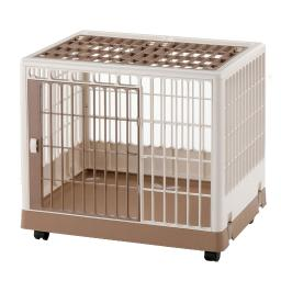 Richell 94603 White / Mocha Richell Pet Training Kennel Pk-650 White / Mocha 25.4 X 19.7 X 22