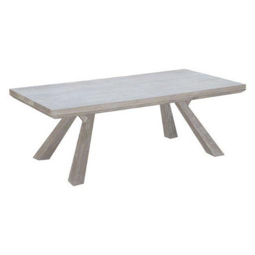 Zuo Modern 100746 Beaumont Rectangular Coffee Table, Sun Drenched Acacia