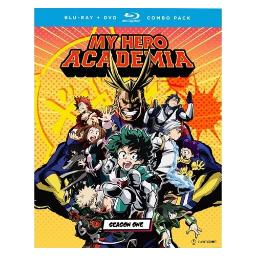 My hero academia-season one (blu-ray/dvd combo/5 disc) BRFN09725