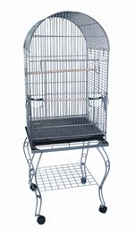 """YML 20"""" Dometop Parrot Cage With Stand - AS"""
