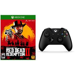 Xbox One Red Dead Redemption 2 and Wireless Controller with Bluetooth