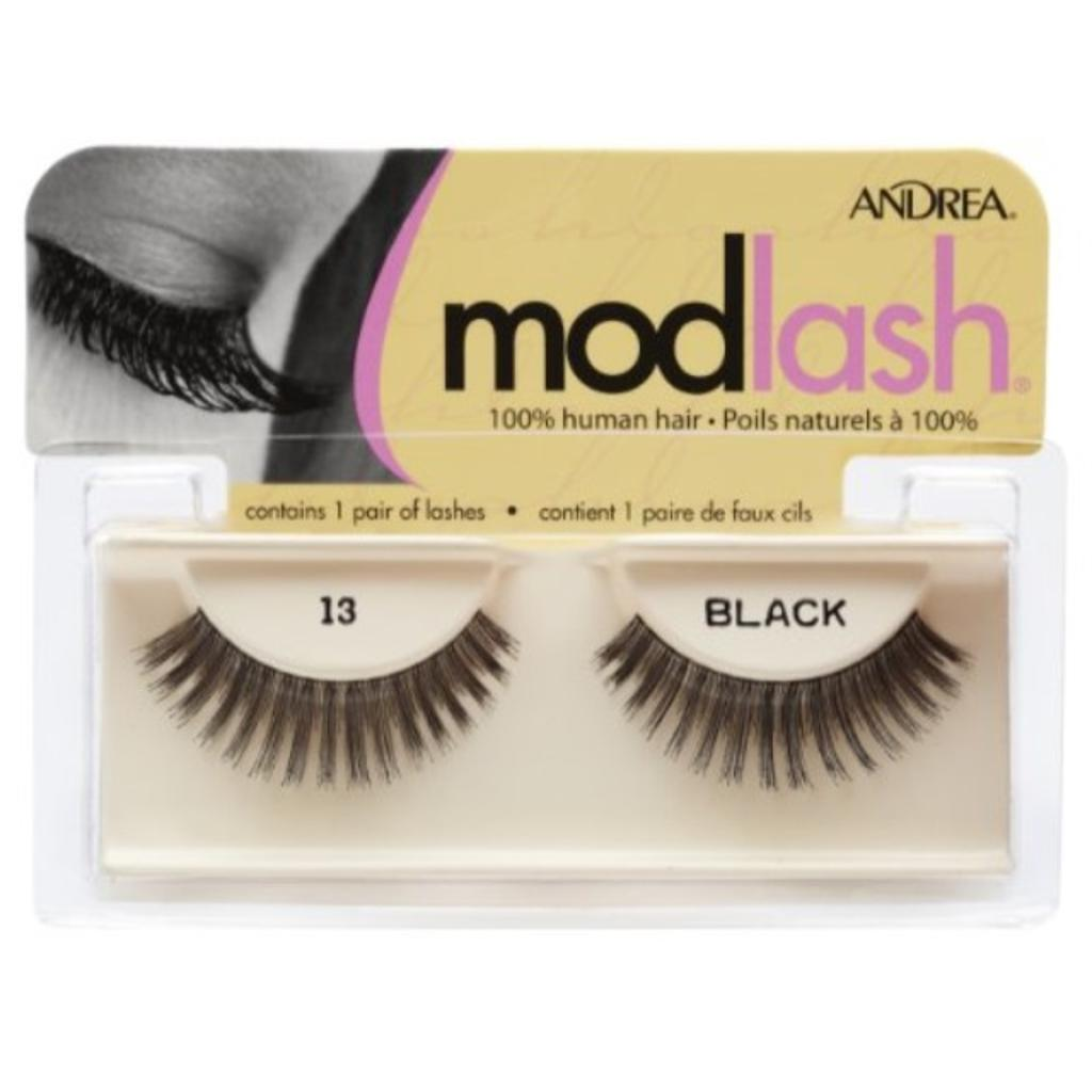 Andrea Mod Strip Lash Pair Style 13, (Pack of 4)