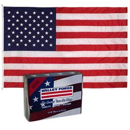 Valley Forge 19221000 American Flag, 10'x19', Multi color