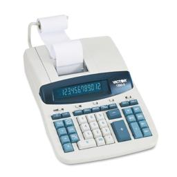 VCT12603 - Victor 1260-3 Two-Color Heavy-Duty Printing Calculator