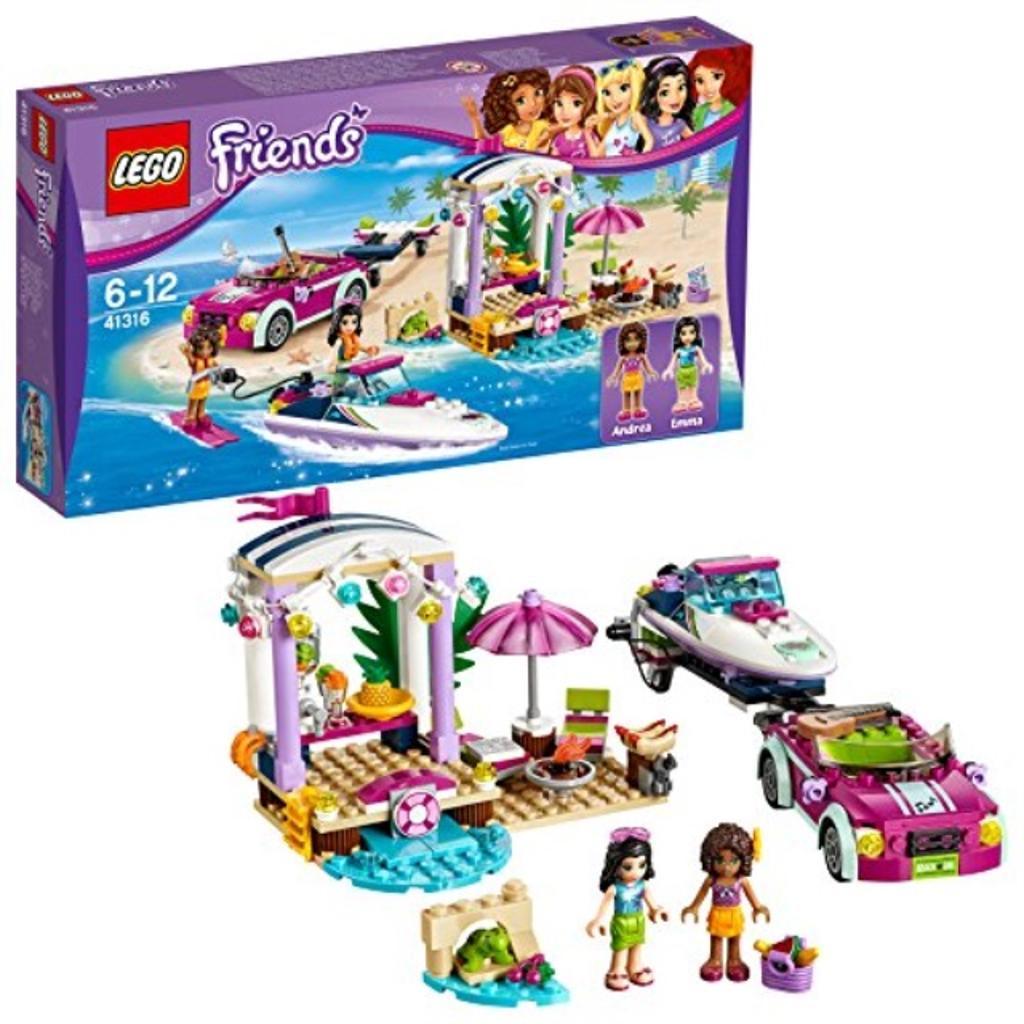 41316 LEGO Andrea's Speedboat Transporter