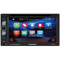 Blaupunkt SANJOSE 120 6.2-Inch Touch Screen DVD Multimedia Car Stereo Receiver with Bluetooth