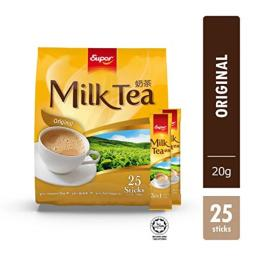 500g Super Milk Tea 3 in 1, Original, 25 Sachets (One Bag Per Order)