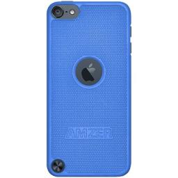 Amzer Snap On Hard Shell Case Cover for Apple iPod Touch 5G (Blue)
