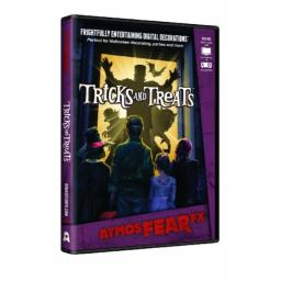 AtmosFX Tricks and Treats Digital Decorations DVD for Halloween Holiday Projection Decorating