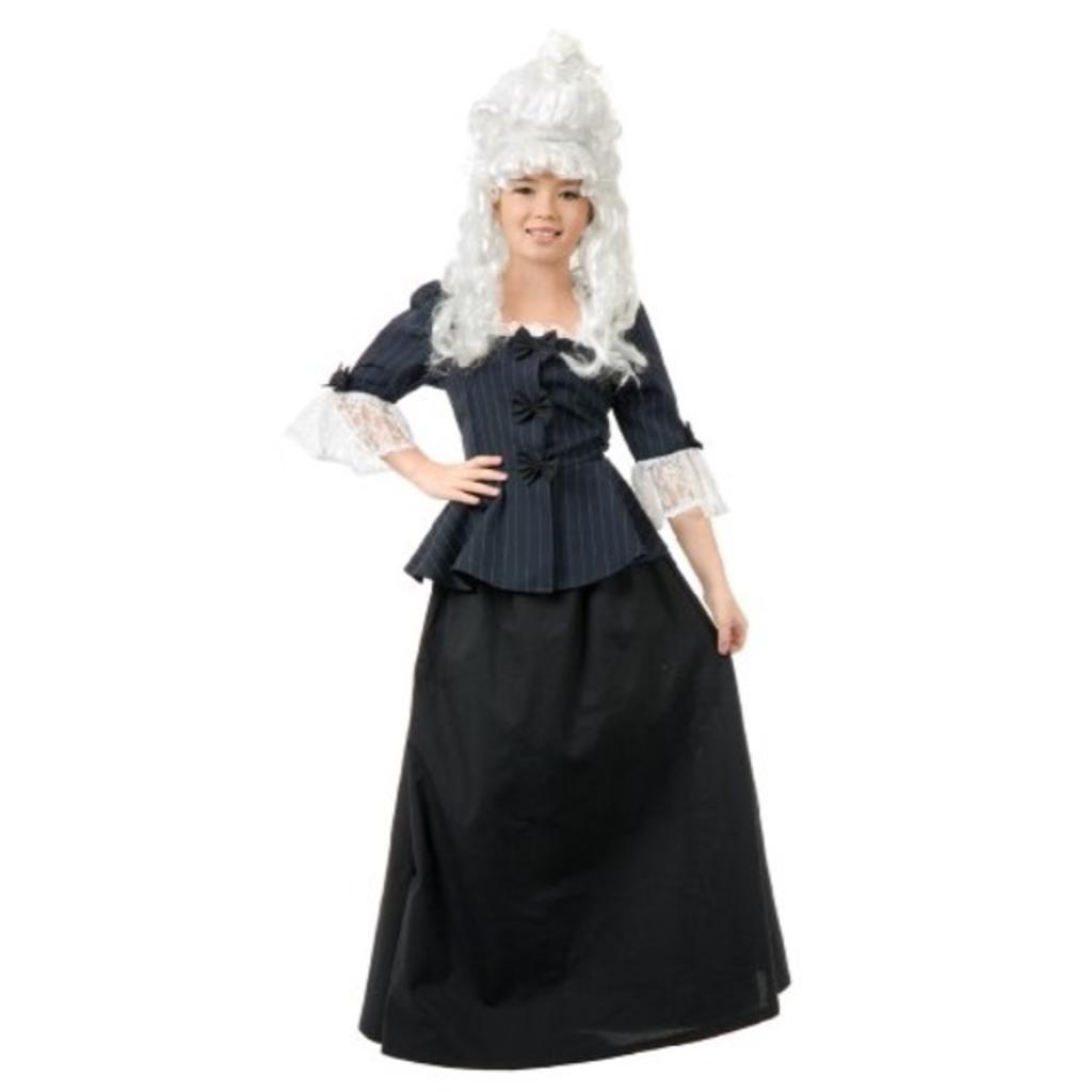 00255 Girls Large 10-12 Martha Washington Dress