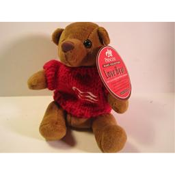 Princess Cruises Beanie Collection, Love Bear, 6 Inches
