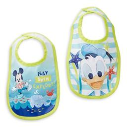 Disney Mickey Mouse and Donald Duck Bib Set for Baby Multi
