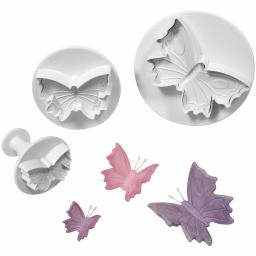 PME Plunger Cutters, Butterfly, 3-Pack