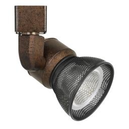 10W Integrated LED Metal Track Fixture with Mesh Head,Bronze and Dark Black