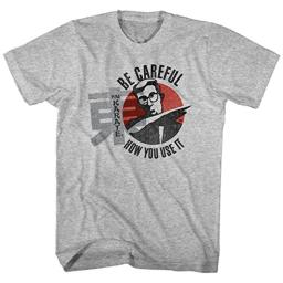 Hai Karate Aftershave Fragrance Be Careful How You Use It Adult T-Shirt Tee