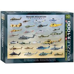 EuroGraphics Military Helicopters Puzzle (1000-Piece)