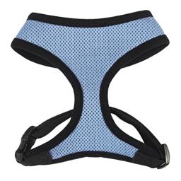 Casual Canine Pastel Mesh Dog Harness, Small, Blue