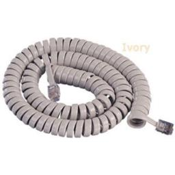 Cablesys GCHA444025-FIV / 25' Ivory Handset Cord