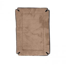 "K&H Pet Products Memory Foam Dog Crate Pad - 4""H - Mocha"