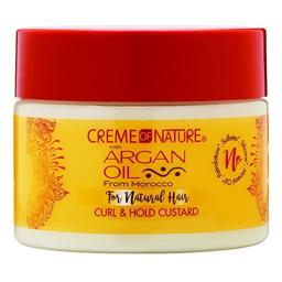 Creme Of Nature Argan Oil Curl & Hold Custard 11.5 Ounce (340ml) (2 Pack)