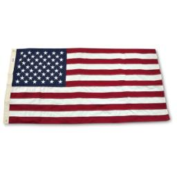 Government Spec. 2 foot 4 inch x 4 foot 6 inch U.S. Flag