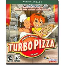Turbo Pizza Action Arcade PC CD-ROM Game Sofware