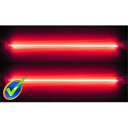 "Logisys Dual 12"" Cold Cathode Kit - Red"