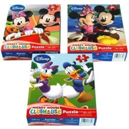 Cardinal Mickey Mouse Clubhouse 24 Piece Puzzle Assorted Styles