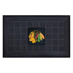 FANMATS NHL Chicago Blackhawks Vinyl Door Mat