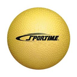 School Smart Playground Ball - 7 inch - Yellow - 1293608