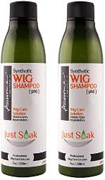Awesome Synthetic Wig Shampoo Just Soak / 7 oz Pack of 2