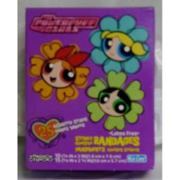 Power Puff Girls Sterile Adhesive Bandages (1box)