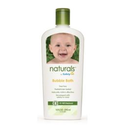 Safety 1st Naturals Bubble Bath, 10-Fluid Ounce Bottles (Pack of 3)