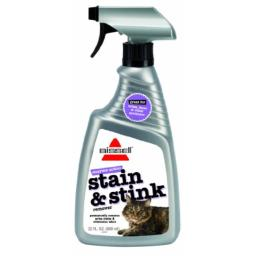 Bissell 60P3 Enzyme Action Cat Stain and Stink Remover, 22-Ounce