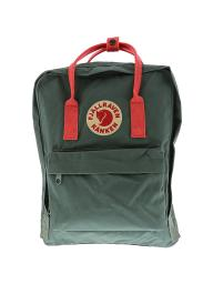 Fjallraven Kanken Classic Fabric Backpack - Frost Green / Peach Pink