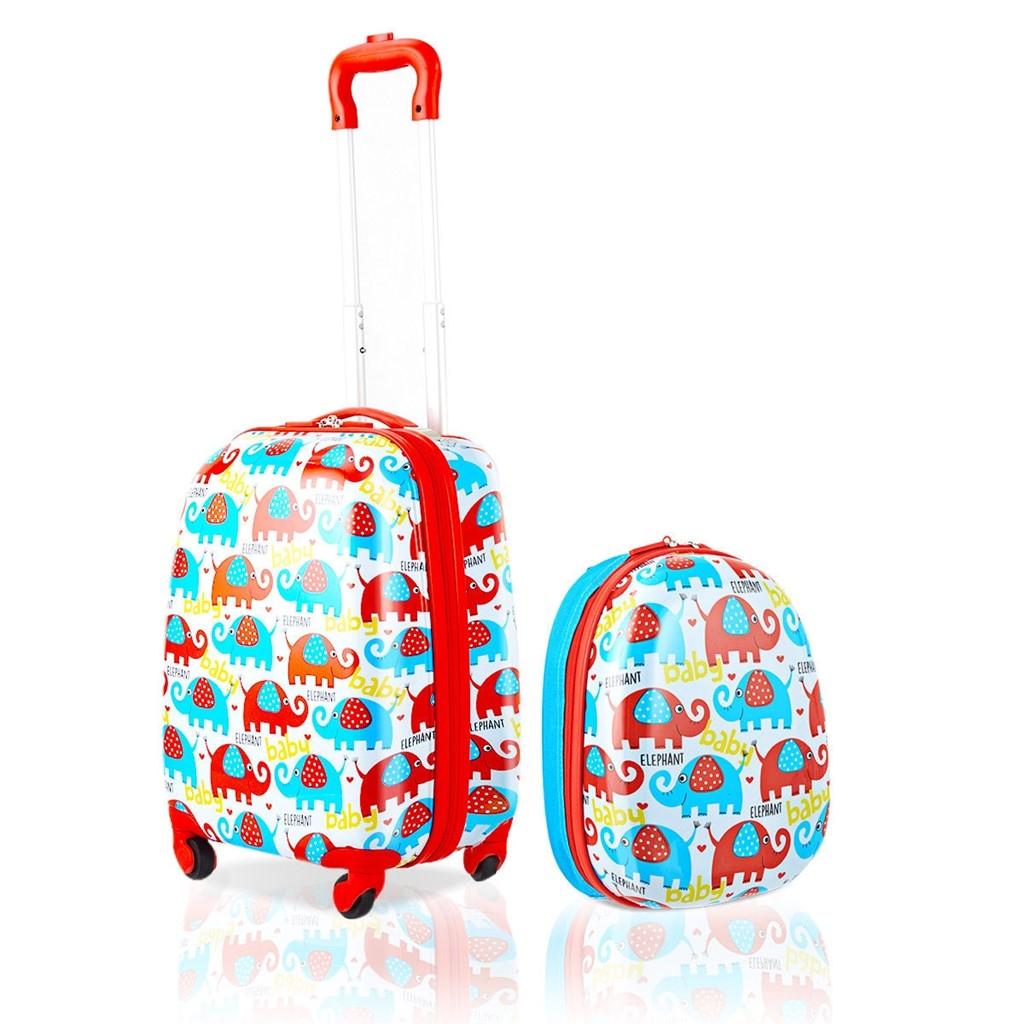 """2 pcs 12 and 16"""" Kids Luggage Set"""""""