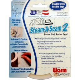 "Steam-A-Seam 2 Double Stick Fusible Web-.5""X20yd 5510"