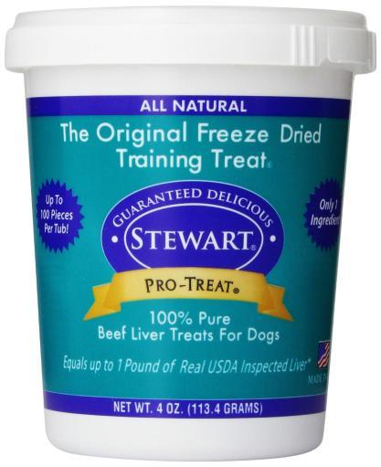 Miracle Corp 400606 Miracle Corp Stewart Pro-Treat Freeze Dried Beef Liver 4 Oz. E44CDBD4F5201D72