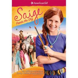 AMERICAN GIRL-SAIGE PAINTS THE SKY (DVD) 25192189180