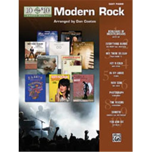Alfred 00-33223 10 for 10 Sheet Music- Modern Rock - Music Book