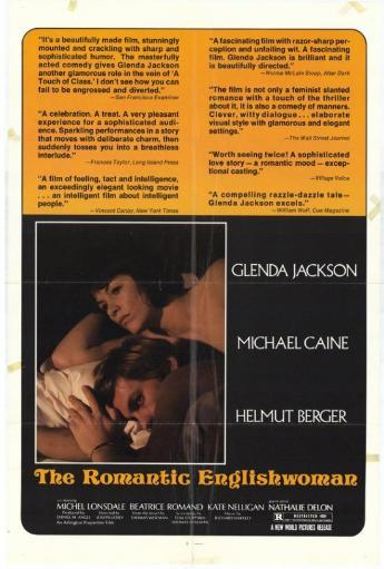 The Romantic Englishwoman Movie Poster (11 x 17) BJYPYHEMO02RARUS